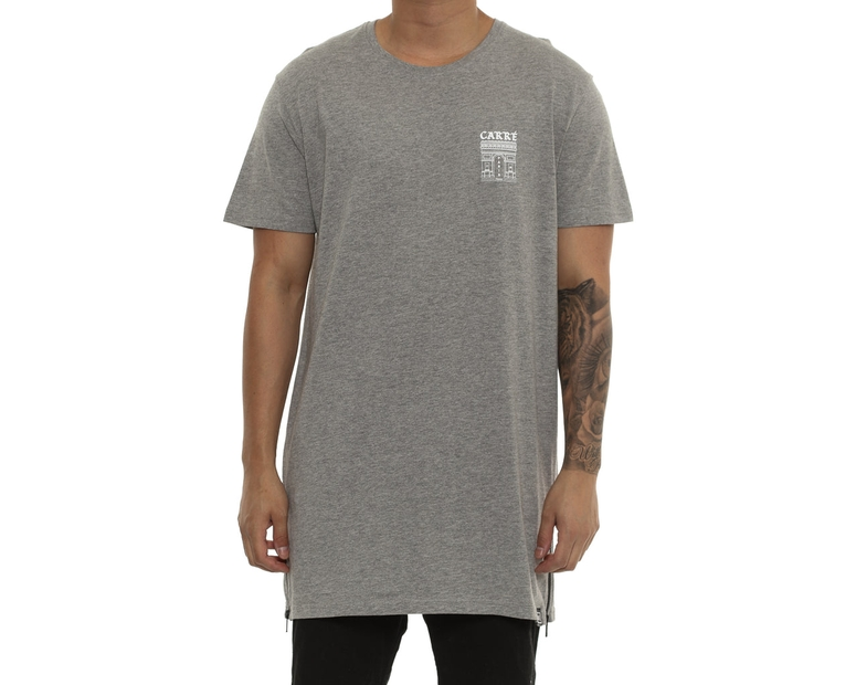 Carré Arc Capone Short Sleeve Tee Grey