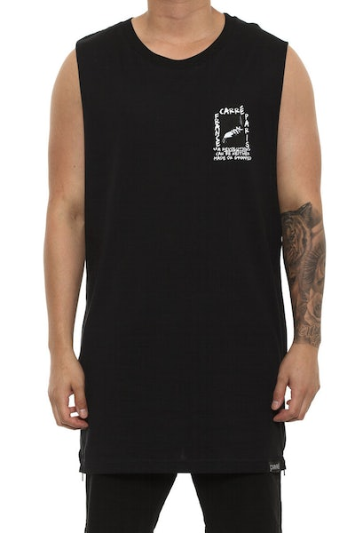 Carré Spark Capone Muscle Tee Black