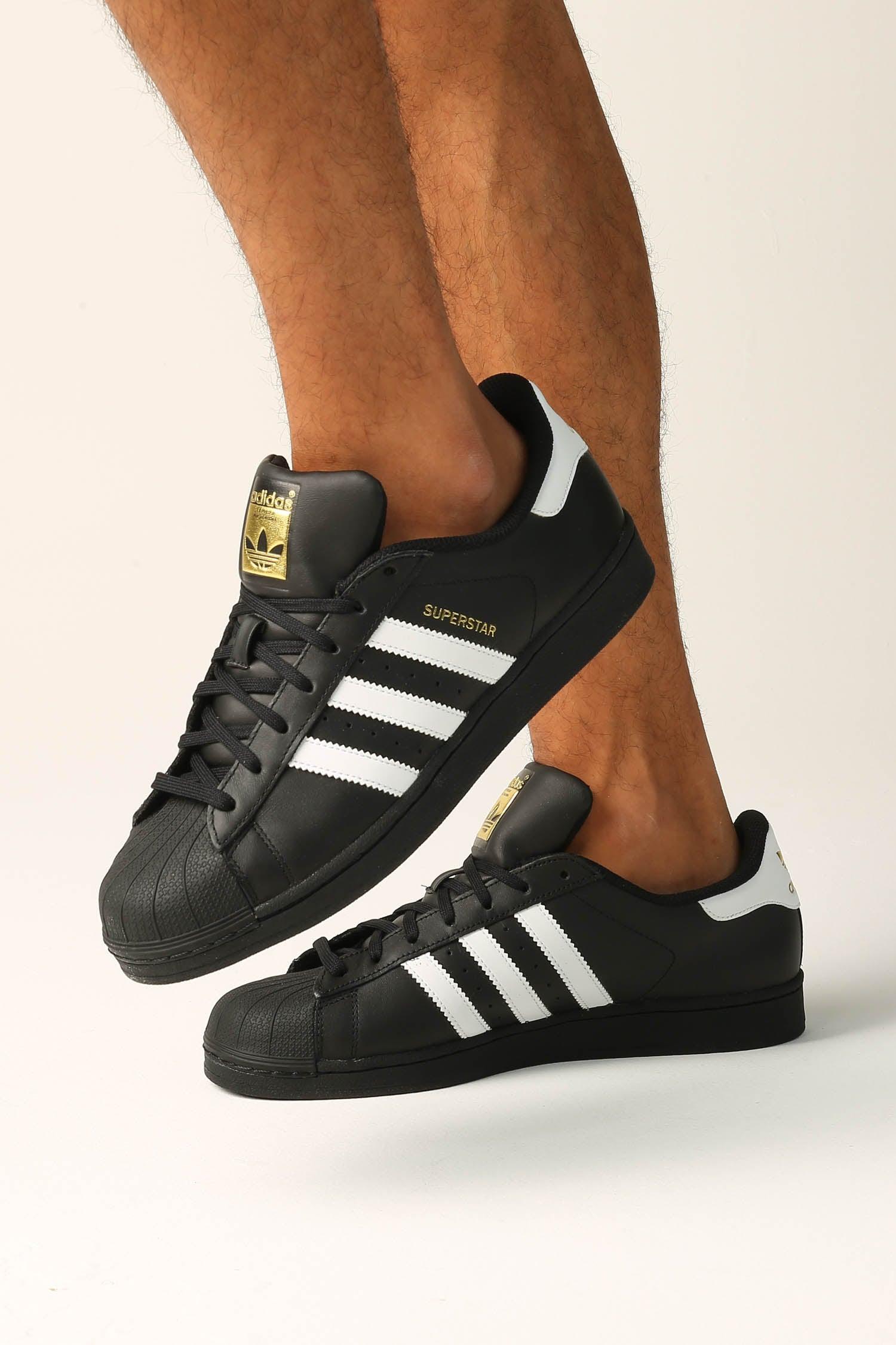 Superstar Foundation Shoe Blackwhite