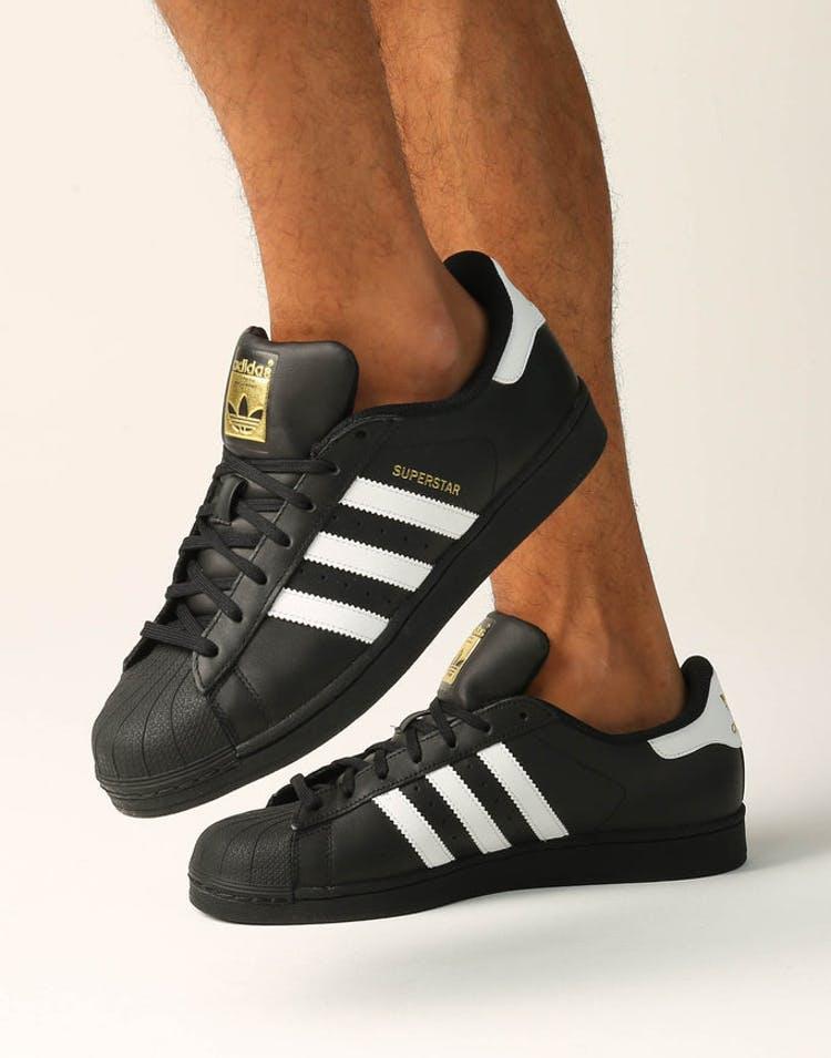 online retailer 79871 3ed72 Superstar Foundation Shoe Black/white