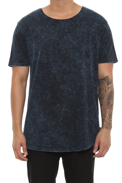 Silent Theory Acid Tall Tee Navy