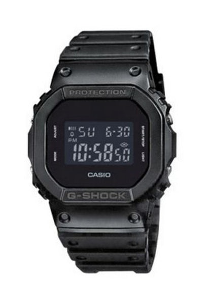 G-Shock DW5600BB Black Out Basic Black/Black