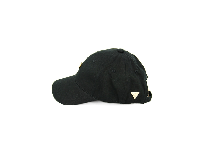 Hater Gold Cannabis Cap Black