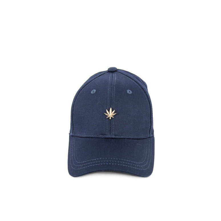 Hater Gold Cannabis Cap Navy