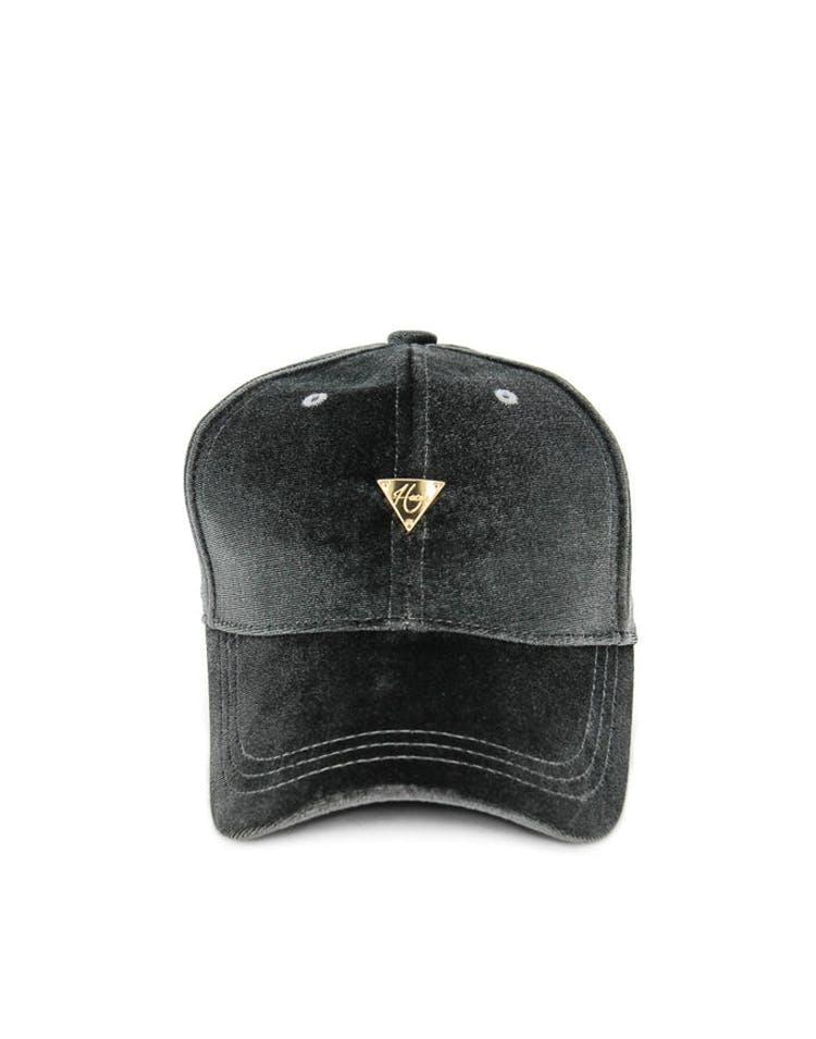 Hater Velvet Cap Grey
