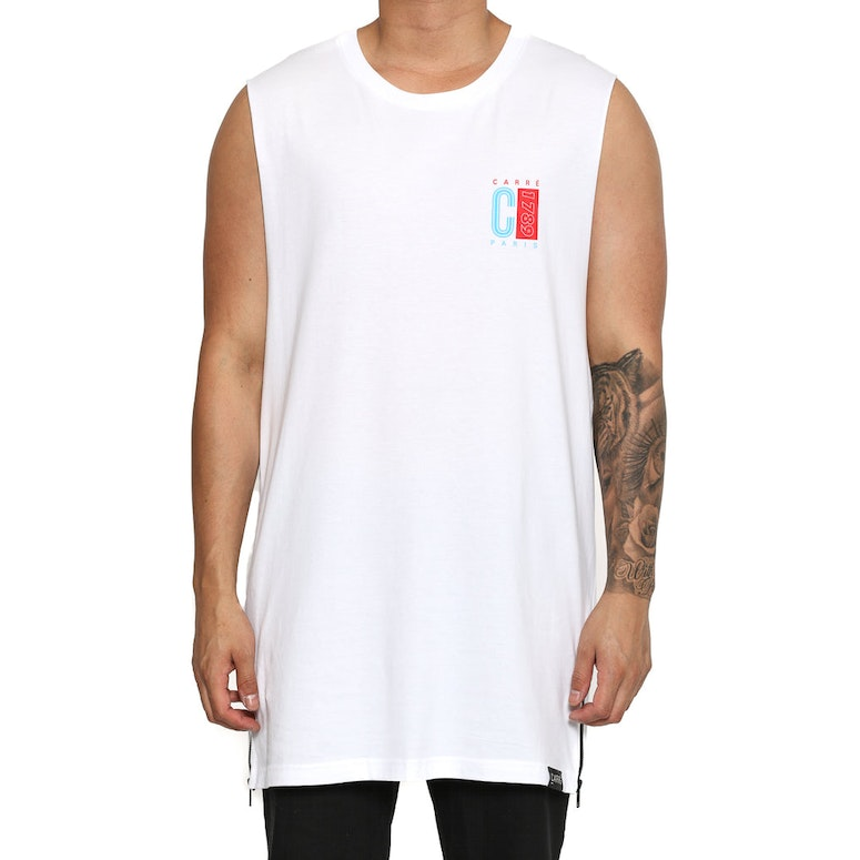 Carré Mode Capone 2 Muscle Tee White