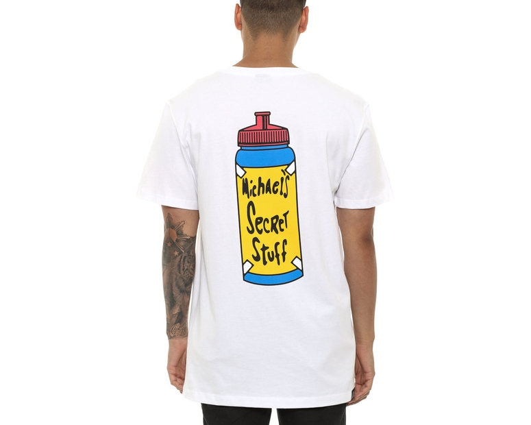 Goat Crew Secret Stuff Tee White