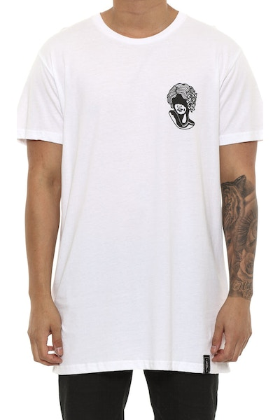 Rats Get Fat Hide Tee White