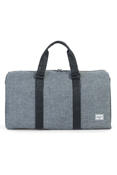 Herschel Supply Co Ravine Crosshatch Duffle Charcoal/Black