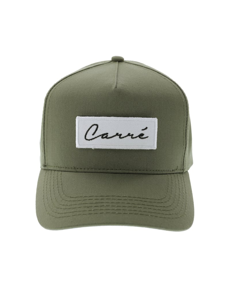 Carré Longitude Patches Strapback Olive