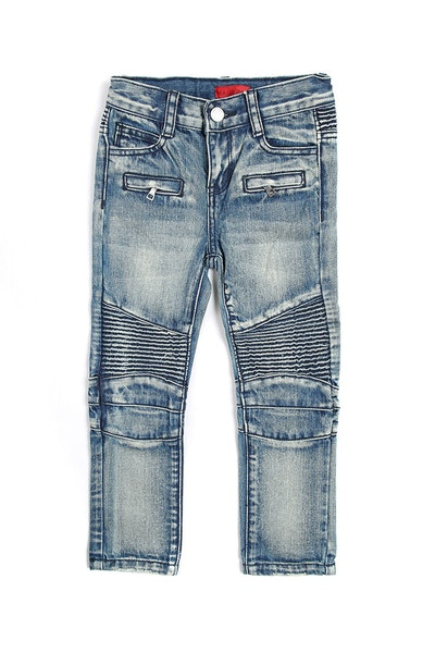 Haus Of JR Clayton Biker Denim Stone Wash