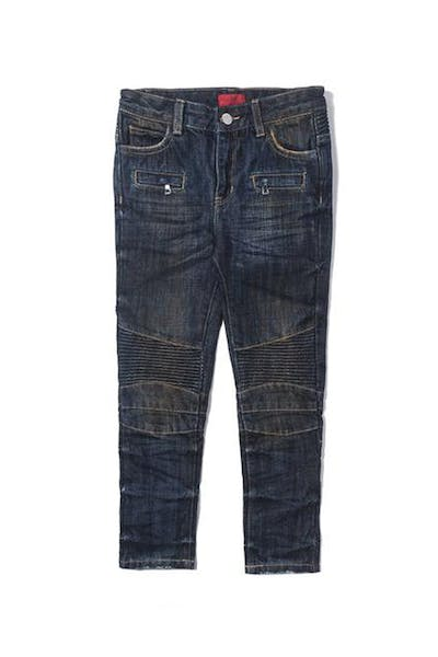 Haus Of JR Clayton Biker Denim Dark Indigo