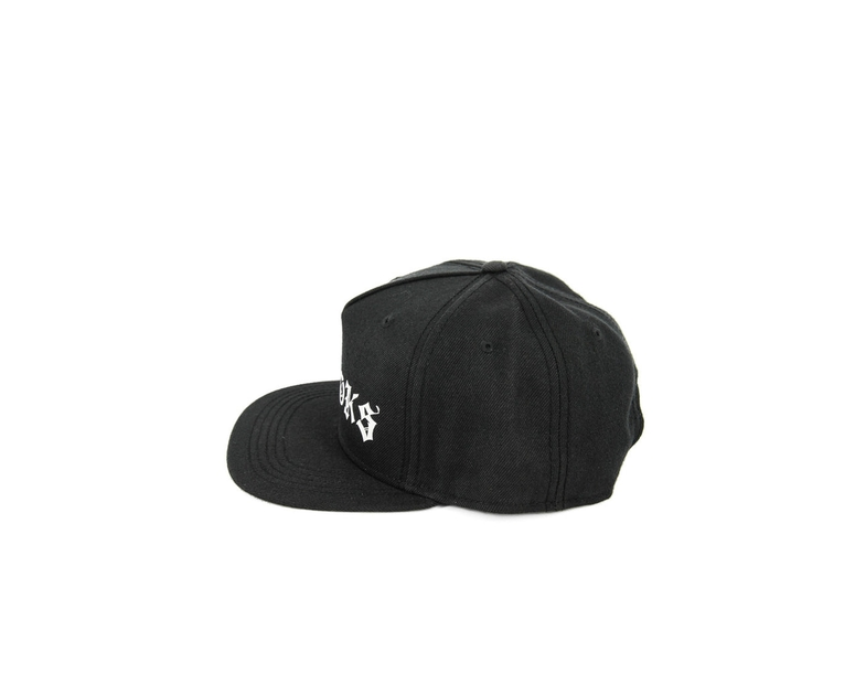 Crooks & Castles The Player Snapback Black/White