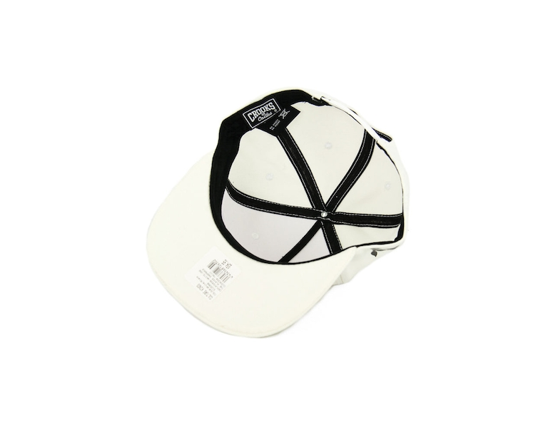Crooks & Castles The Player Snapback White/Black