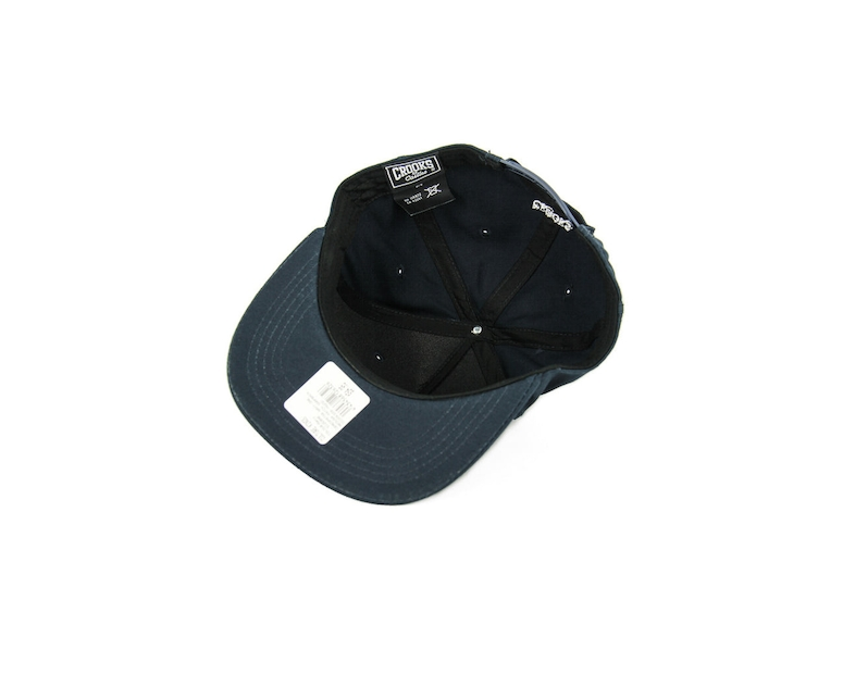 Crooks & Castles Medusa Patch Snapback Navy