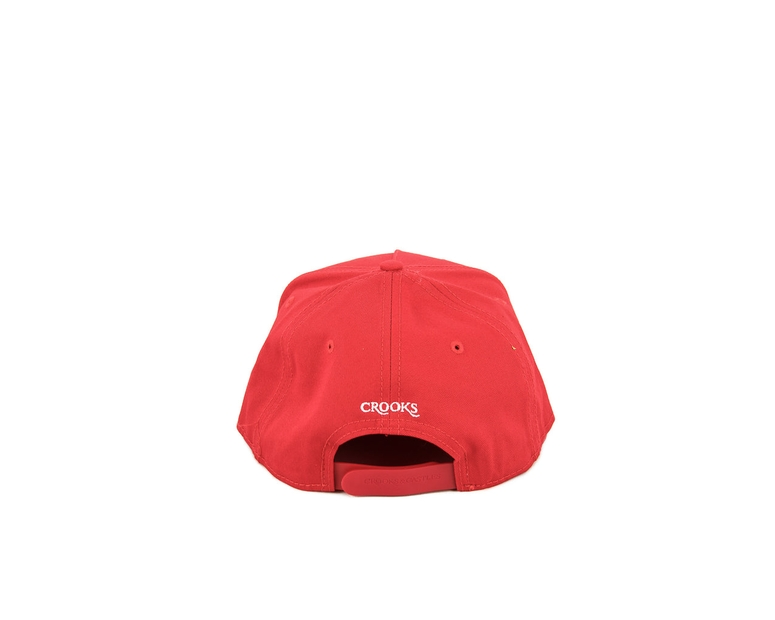 Crooks & Castles Medusa Patch Snapback Red