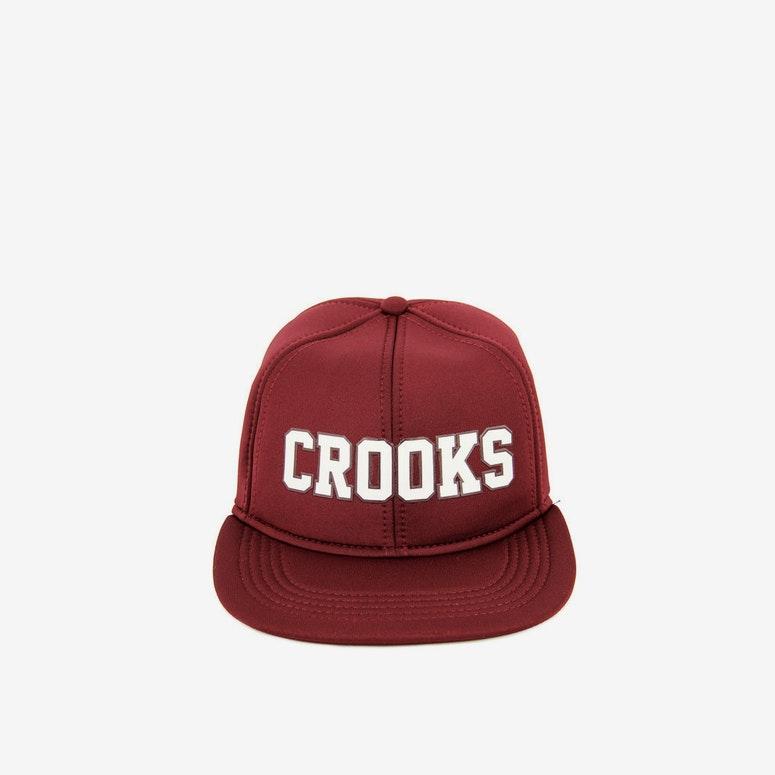 Crooks   Castles Armada Snapback Burgundy – Culture Kings 2c904ca29285