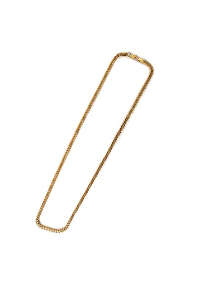 Saint Morta Franco 24 Inch 4MM Chain Gold