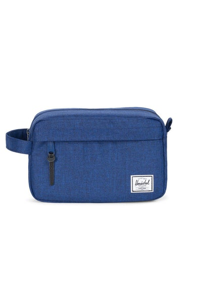 HERSCHEL SUPPLY CO CHAPTER CROSSHATCH TRAVEL KIT ECLIPSE