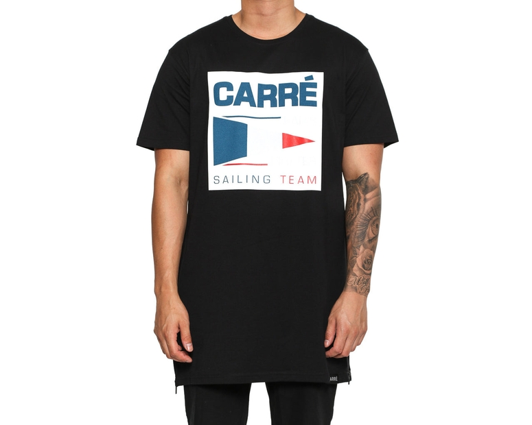 Carré PP Sailing Team Capone Tee Black