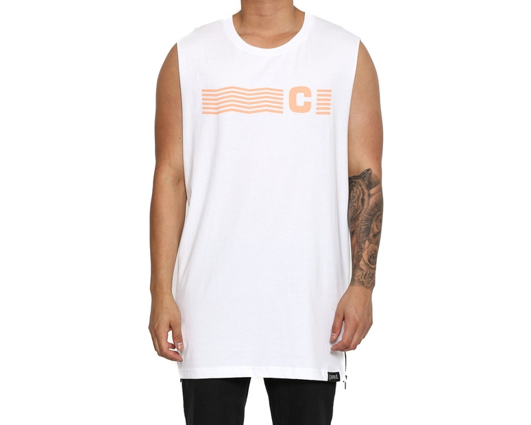 Carré Rolling Capone Muscle Tee White