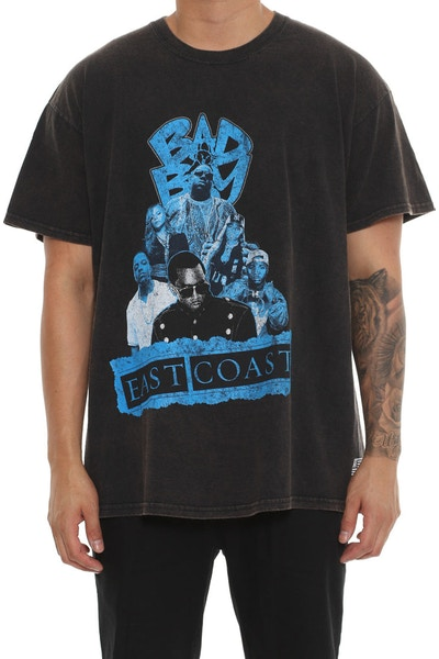 American Thrift Bad Boy Vintage Wash Tee Black
