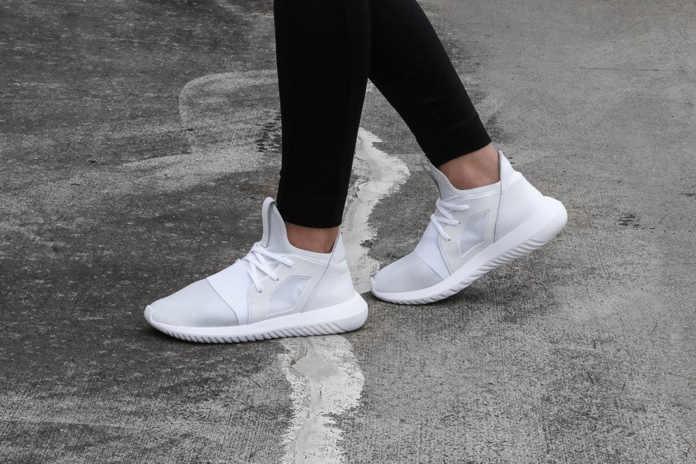 Adidas Originals Women's Tubular Defiant White/White