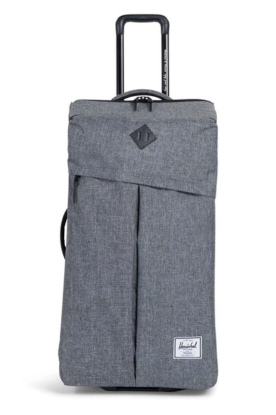 Herschel Supply Co Parcel XL Crosshatch Leather Charcoal/Black