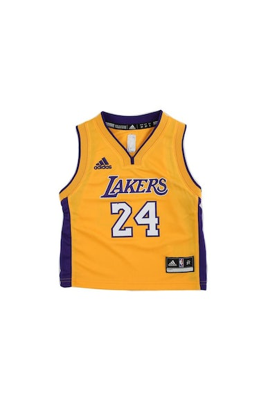 Adidas Performance Los Angeles Lakers Kobe Bryant Toddler Jersey '24' Yellow