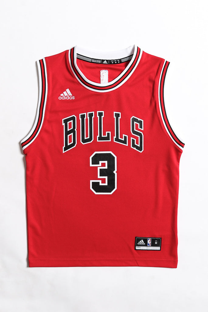 a8354fa87 ... official adidas performance chicago bulls dwayne wade youth jersey red  eea3a 012a1 ...