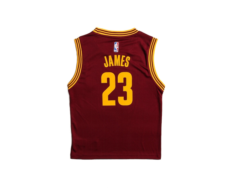 Adidas Performance Cleveland Cavaliers LeBron James Youth Jersey Burgundy
