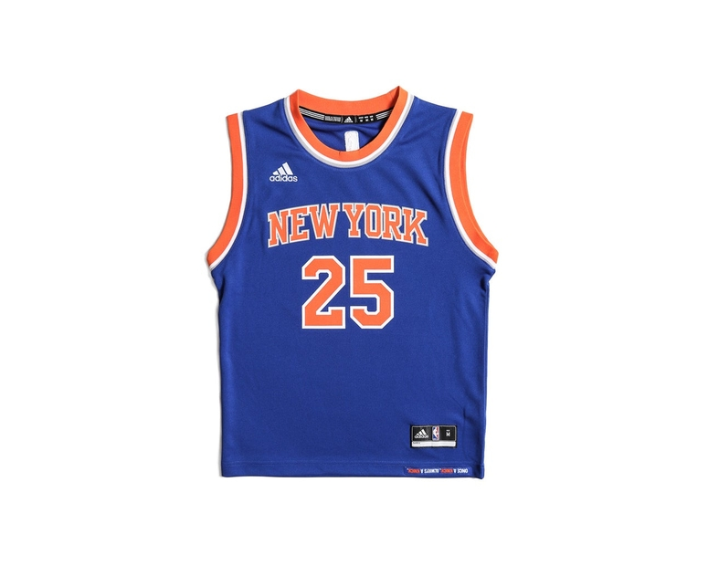 Adidas Performance New York Knicks Derrick Rose Youth Jersey Blue