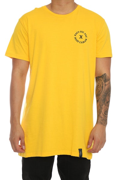 Rats Get Fat X Jesse Taylor Leader Tee Yellow