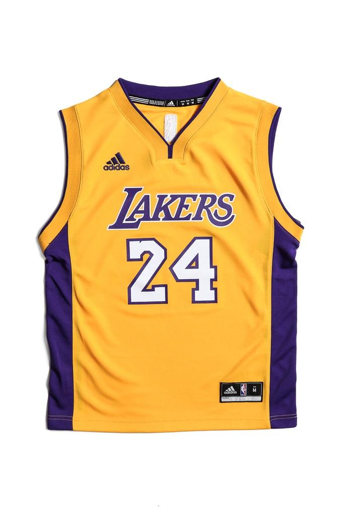 cchgzq Adidas Performance LA Lakers Kobe Bryant Youth Jersey Yellow