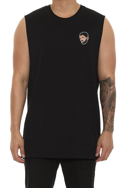 Goat Crew 6Woes Muscle Tee Black