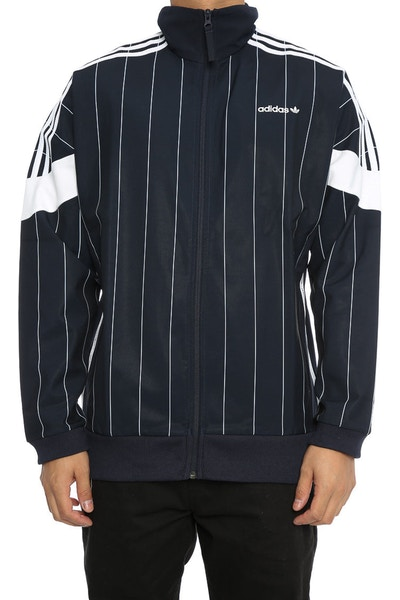 Adidas Originals CLR84 PINSTRIPES TRACK JACKET NAVY