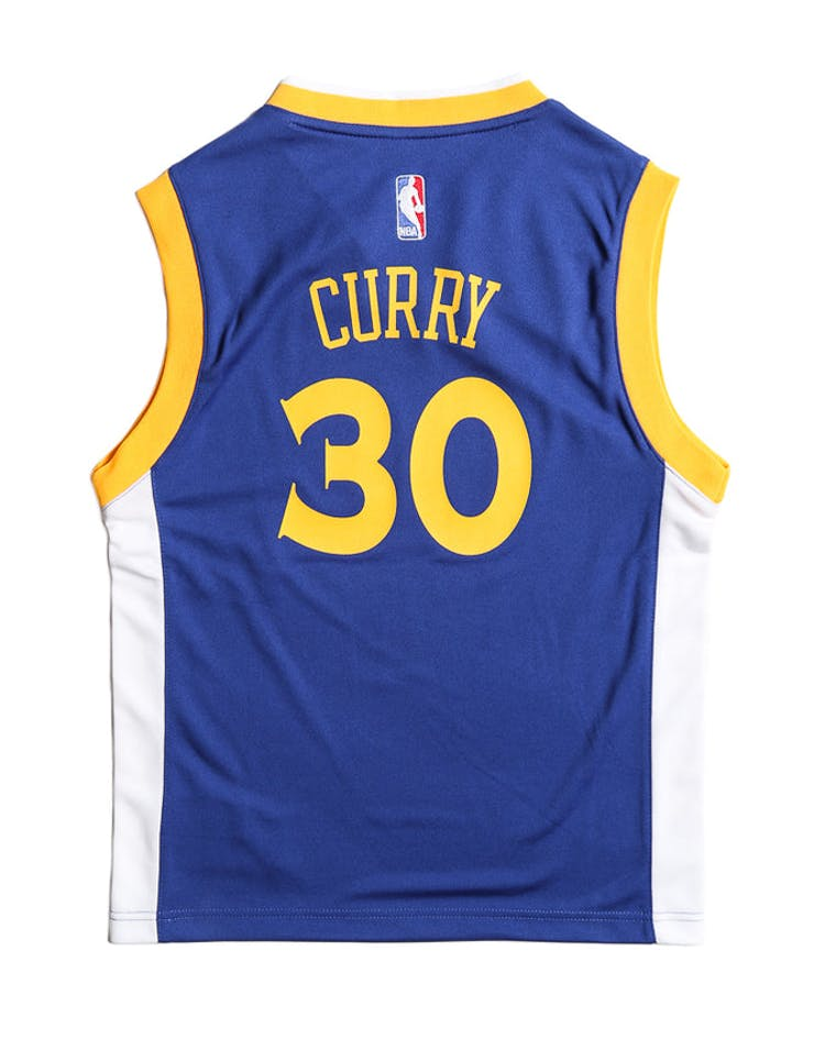 new product eafb4 be617 Adidas Performance Golden State Warriors Stephen Curry Youth Jersey Blue