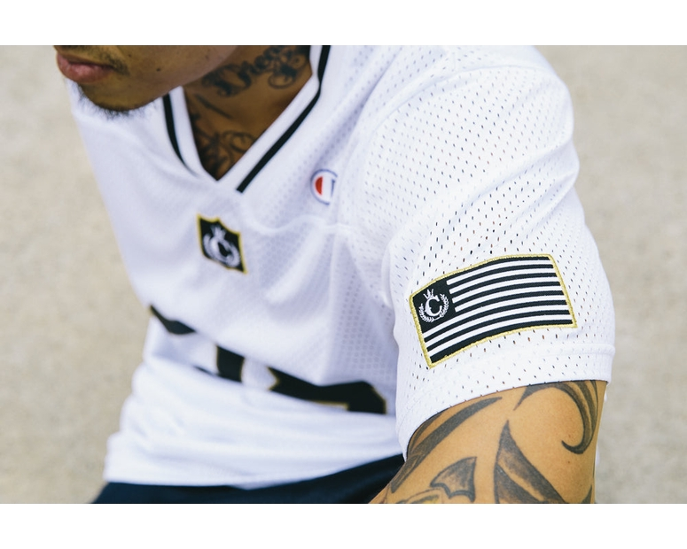 Culture Kings X Champion Football Top White