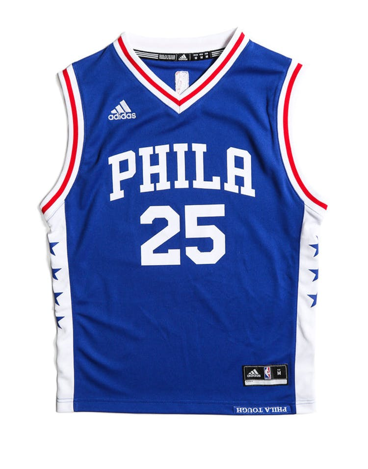 the best attitude bffca db301 Adidas Performance Philadelphia 76ers Ben Simmons Youth Jersey Blue