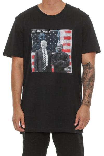 Goat Crew Watch The Throne 2 Tee Black