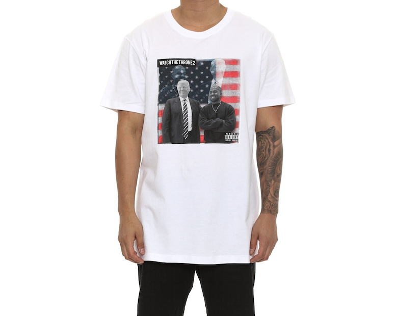 Goat Crew Watch The Throne 2 Tee White