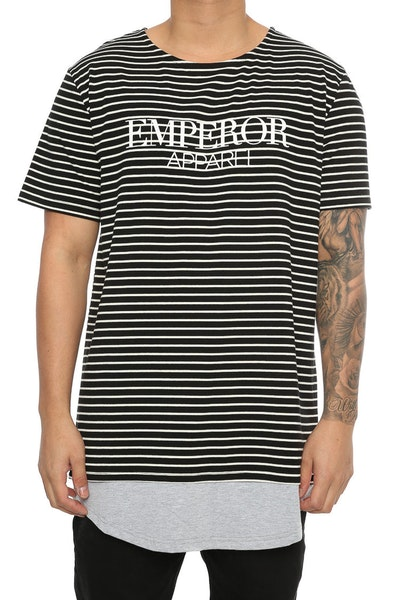 Emperor Apparel Mayfair Tee Black/Grey