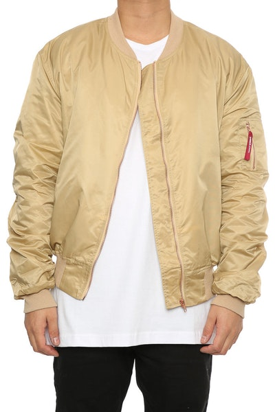 Emperor Apparel Sokar Bomber Jacket Tan