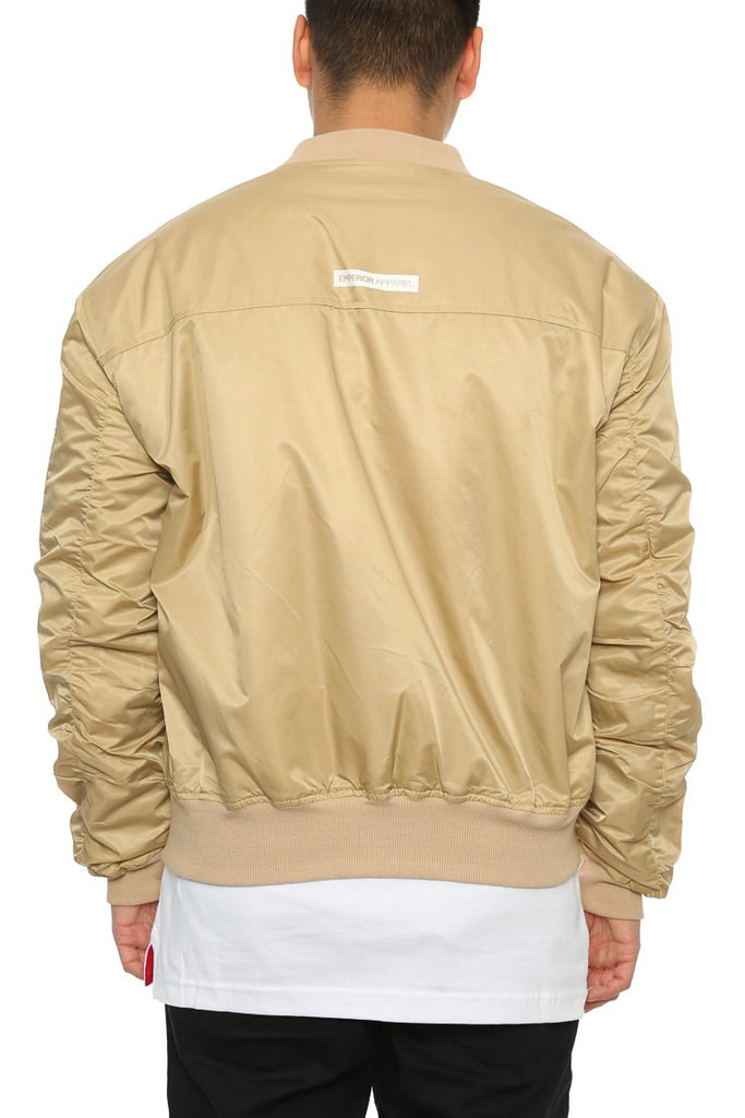 Emperor Apparel Sokar Bomber Jacket Tan – Culture Kings