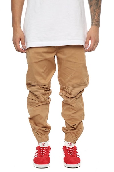 Emperor Apparel Sorrento Biker Pant Tan