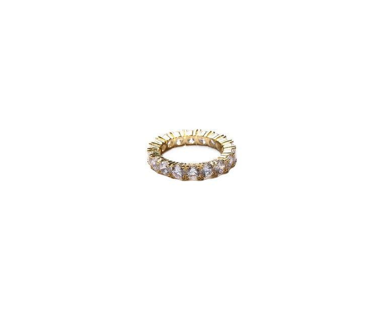 Veritas Infinity Ring Gold