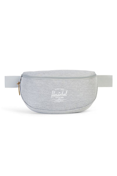 Herschel Bag CO Sixteen Crosshatch Hip Sack Light Grey