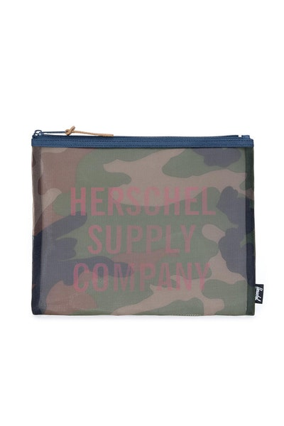 Herschel Supply Co Network Pouch Large Mesh Camo