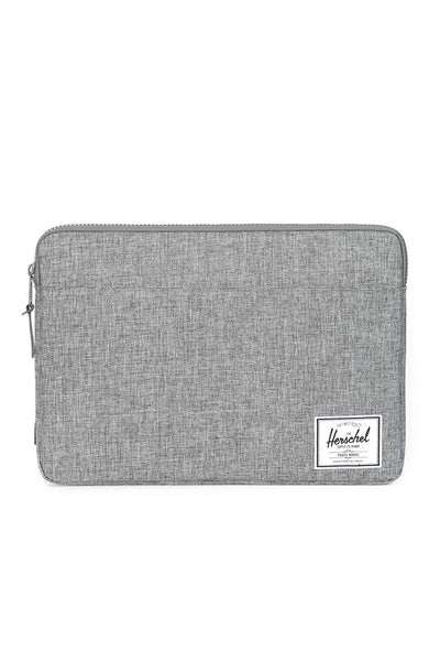 "Herschel Supply Co Anchor Sleeve Crosshatch 13"" Charcoal"