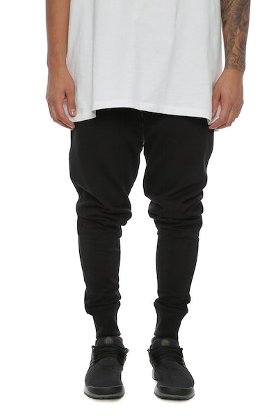 Well Made Track Pants Black